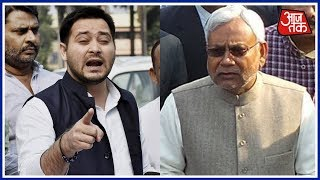 Shatak Aaj Tak: Tejaswi Yadav Questions Nitish Kumar Over Bihar Violence screenshot 2