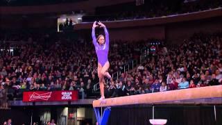 Gabby Douglas - Balance Beam - 2012 AT&T American Cup