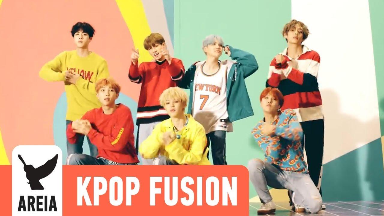 BTS - DNA | Areia Kpop Fusion #12 방탄소년단 REMIX
