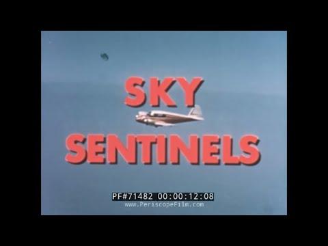 "ATOMIC BOMB TESTS & CIVIL AIR PATROL HISTORIC FILM ""SKY SENTINELS"" 71482"