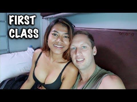 FIRST CLASS INDIAN TRAIN | GOA TO KERALA