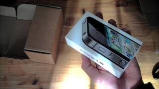 iPhone 4S 64GB schwarz Unboxing deutsch - felixba94(, 2011-10-14T23:31:43.000Z)
