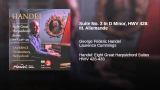 Suite No. 3 In D Minor, HWV 428: III. Allemande