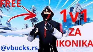 CUSTOM ZA FREE IKONIKA//NA 6k GW HONORA//!skin!nick//FORTNITE BALKAN