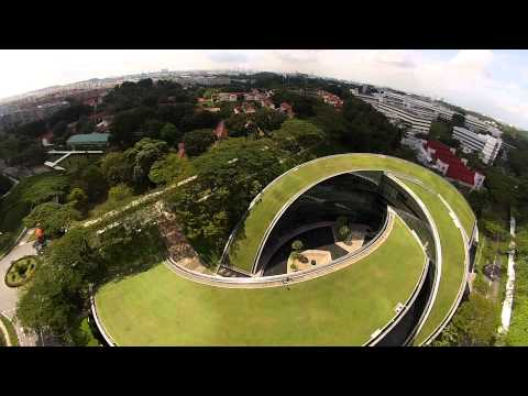 See NTU From Above----Amazing Aerial View of Nanyang Technological University, Singapore