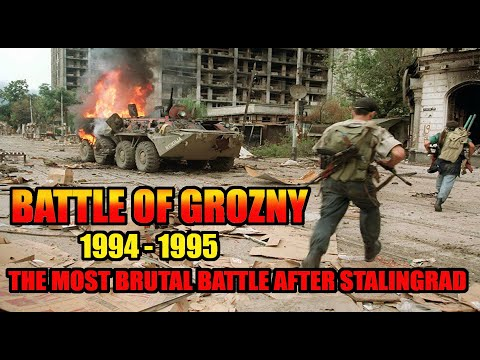GROZNY BLOODY BATTLE Chechnya War 1994 1995