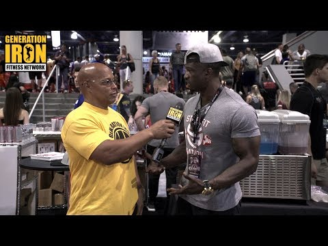 George Brown Explains His Heated Argument With Jeremy Beundia At Olympia 2017 Press Conference