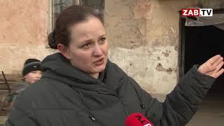 Мужчина из аварийного дома в Чите умер, упав с лестницы