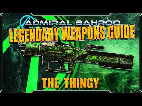 Borderlands 2 Legendary Weapons List