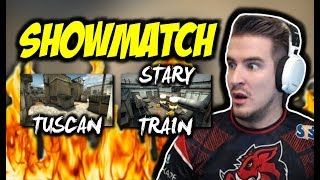 SHOWMATCH TEAM IZAK VS TEAM PAGO !!! TUSCAN, STARY TRAIN, PATITEK 43 FRAGI - CSGO BEST MOMENTS