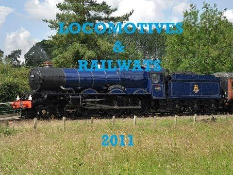 LOCOMOTIVES & RAILWAYS - 2011