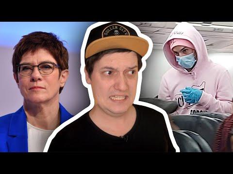 Coronavirus-Prank Geht Mächtig Schief! & AKK Tritt Zurück - Was Jetzt!? ✈️ #LeNews
