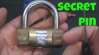 (29) Viro Cylindrical Padlock Secret Revealed & SPP