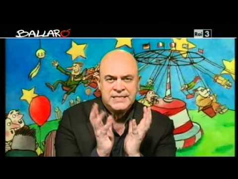 MAURIZIO CROZZA - Ballarò 17/01/2012 - Il declassamento