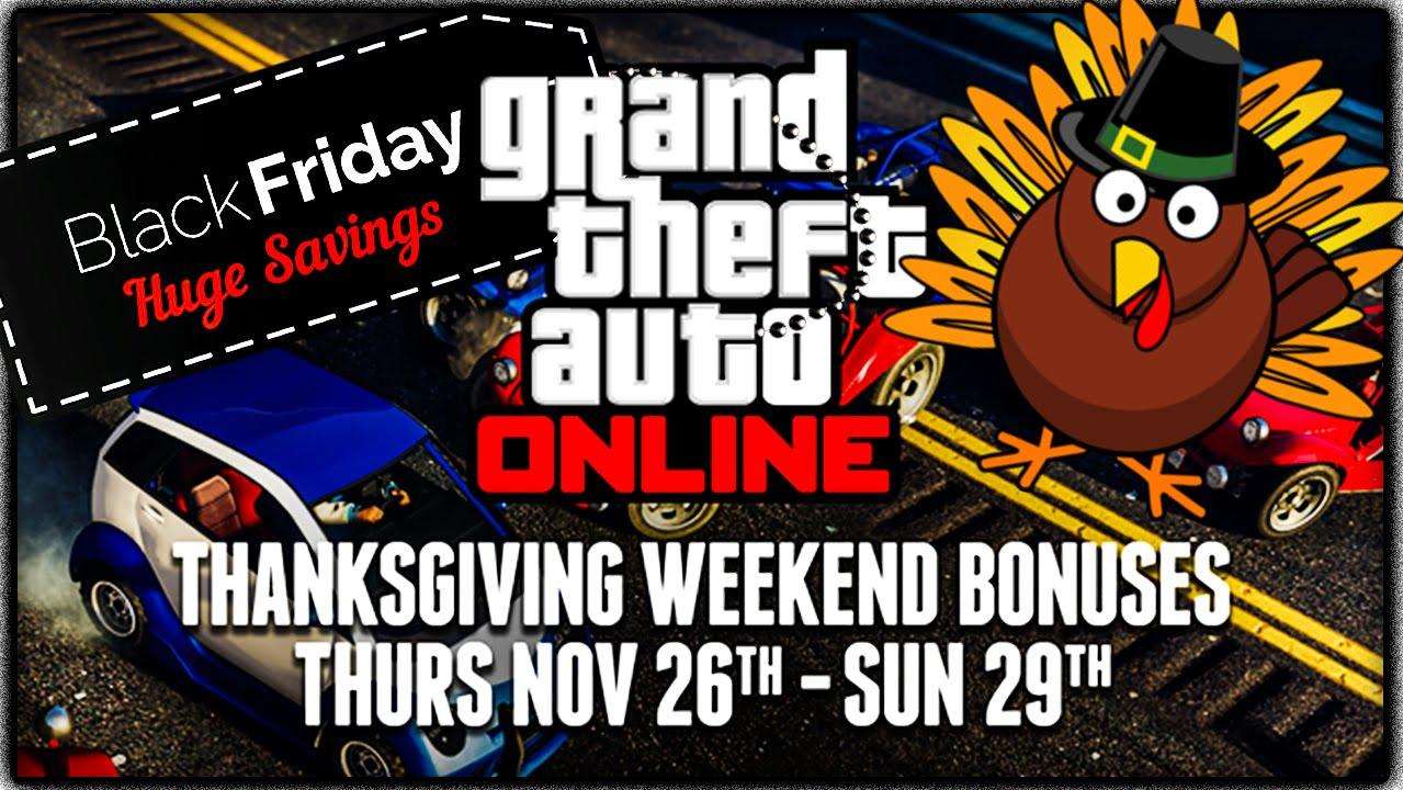 gta v online black friday deals