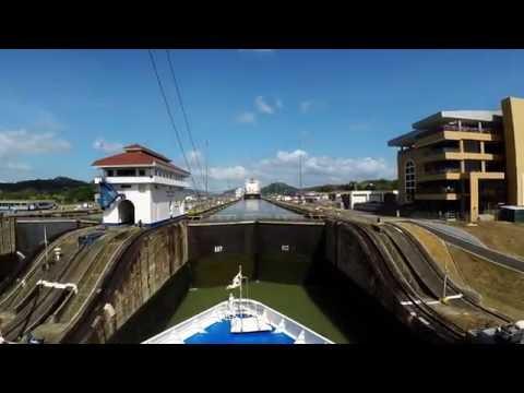 Panama Canal - Full Transit- 4k - Time Lapse