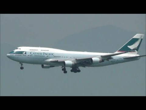 Hong Kong Airport Plane Spotting.  747-400. 747-8, A330s, A340s, 777, and many more !