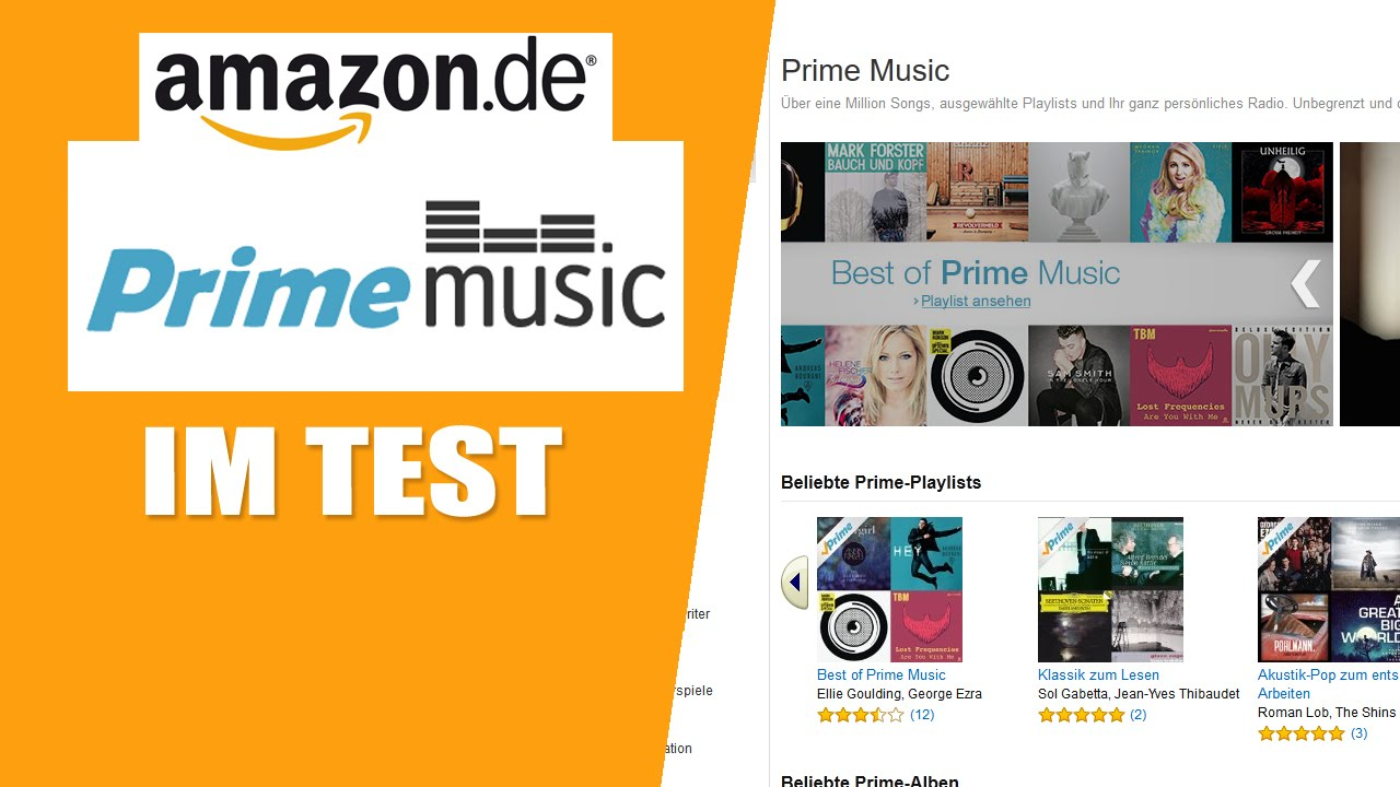 amazon prime music im test youtube. Black Bedroom Furniture Sets. Home Design Ideas