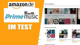 Amazon Prime Music im Test (11/2015)