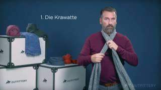 Schal binden für Männer | Gewusst wie mit OUTFITTERY