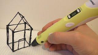 что такое 3d ручка?  Обзор 3D ручек 1 и 3 поколений!