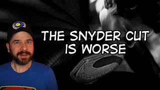 The Snyder Cut Is Worse