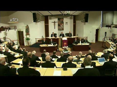 Assemblée des évêques - Séance d'ouverture (printemps 2017)