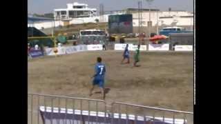 Juegos Bolivarianos de Playa (Bolivia debutó con derrota) 081214