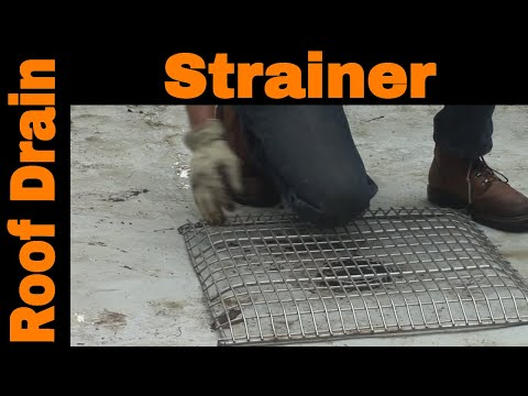 The Perfect Strainer For Flat Roof Drains