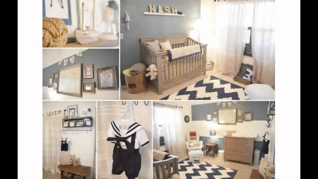 Nautical Theme Baby Room - YouTube
