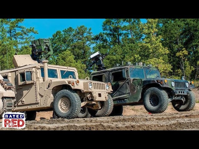 The Army Is Currently Testing the Unmanned M1097 Wingman Vehicle Alongside an M151 Humvee