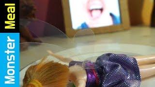 How to catch a Tinker Bell | Monster Meal ASMR Eating Sounds | Kluna Tik Style Dinner No Talk