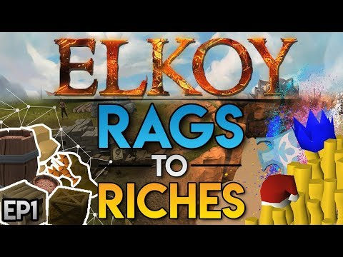 Elkoy : Rags to Riches : EP1 : ITS TIME... 400+ Online, RSPS Stream Tomorrow!