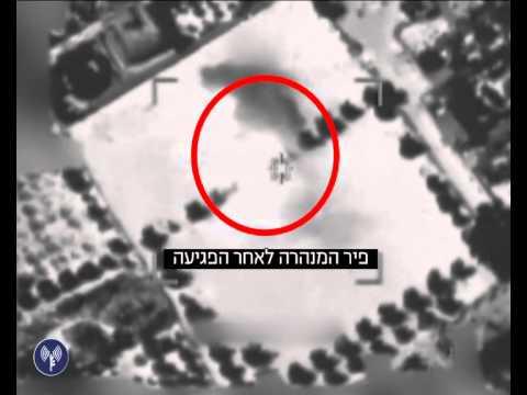 """מבצע """"צוק איתן"""": תקיפת מנהרת טרור על ידי חיל האוויר ויציאת הדף הפיצוץ לאורכה"""