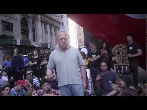 Chris Hedges speaking at Occupy Wall Street: Radical movements keep this country honest!