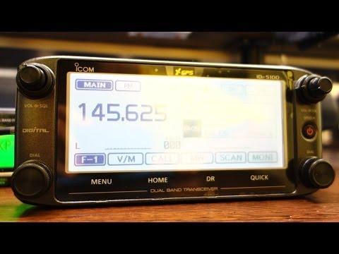 ICOM ID-5100 Digital Transceiver DV D-Star - Test, Review