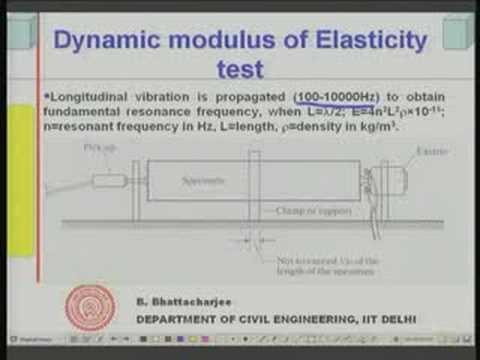 Module 6 Lecture - 5 Mechanical Properties of Concrete