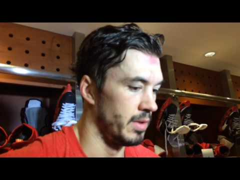 Red Wings' Jonathan Ericsson updates his condition