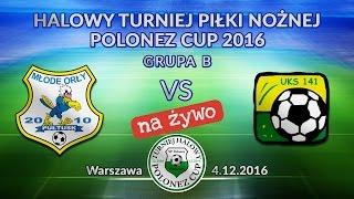Młode Orły Pułtusk II – UKS 141 Warszawa. Polonez CUP 12.2016.