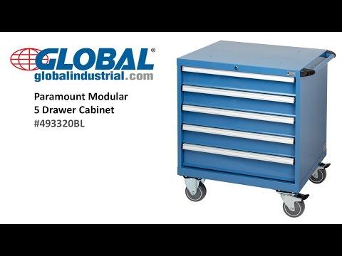 Global Industrial Paramount Modular Drawer Cabinet 493320BL
