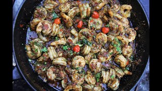 The Ultimate Masala Shrimp #TastyTuesdays | CaribbeanPot.com