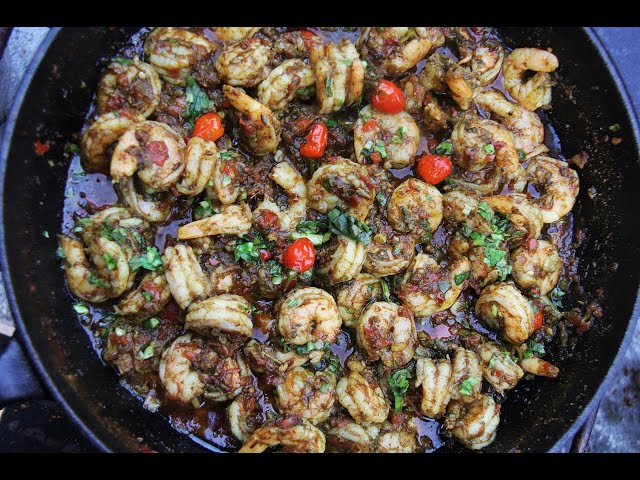The Ultimate Masala Shrimp #TastyTuesdays | CaribbeanPot.com