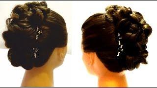Вечерняя прическа на длинные волосы.Вечерняя прическа с плетением.Evening hairstyle for long hair.(Спасибо за подписку и лайки! http://www.youtube.com/user/LiliaLady777 В этом видео я покажу вариант вечерней прически с плетен..., 2013-10-26T06:31:39.000Z)