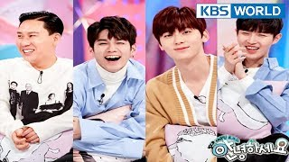 Video Guests : Lee Sangmin, Wanna One(Seongwu, Ong Seongwu, Jaehwan) [Hello Counselor/ENG,THA/2018.03.26] download MP3, 3GP, MP4, WEBM, AVI, FLV April 2018