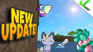 THE NEW ISLAND UPDATE! NEW POKEMON AND Z-CRYSTALS! - Pokemon Brick Bronze thumbnail