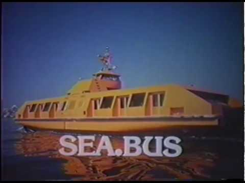 Original SeaBus video from the archives