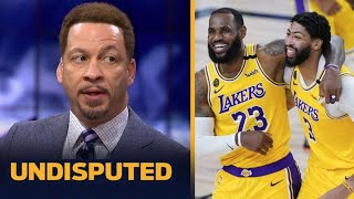 """Chris Broussard CLAIMS LeBron, AD is """"unstoppable"""", Lakers will finish off Jokic, Murray & Nuggets"""