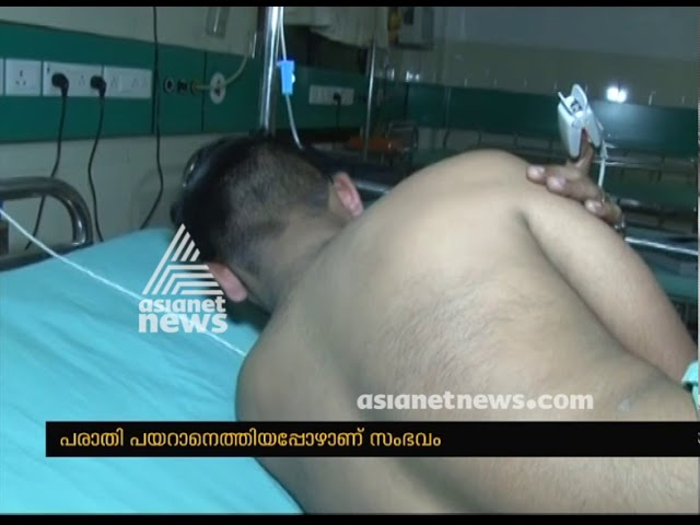 Pvt Bus conductor attacked by Police in Malappuram | FIR 17 Jan 2017