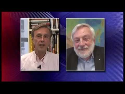 Ice Free Arctic? Thom Hartmann with Prof Peter Wadhams (June 2016)