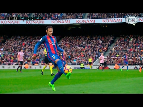 Neymar vs Athletic Bilbao (Home) HD 720p (04/02/2017)